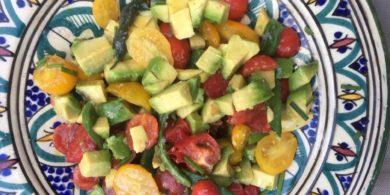 Zomerse salade met toum